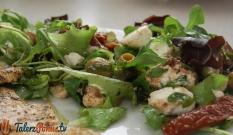 Mix sałat z suszonymi pomidorami