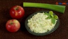 Surówka z pora i jabłka