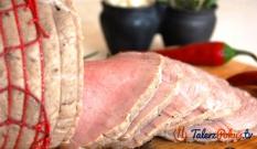 Szynka gotowana - domowa wędlina