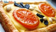Mazurek z kandyzowaną pomarańczą