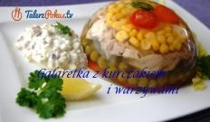 Galaretka z kurczakiem i warzywami