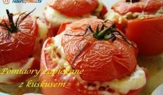 Pomidory zapiekane z kuskusem