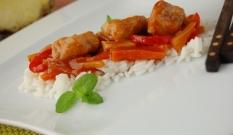 Kurczak w sosie słodko - kwaśnym