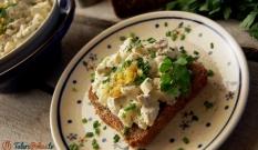 Sałatka pieczarkowa z jajkami
