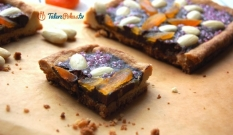 Mazurek truflowy (czekoladowy)
