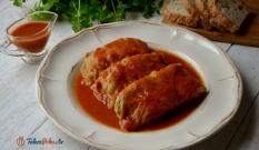 Gołąbki z mięsem i ryżem