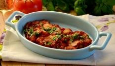 Ryba zapiekana w pomidorach